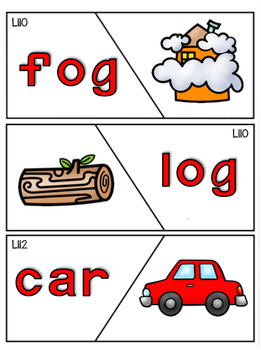 Reading Mastery Sight Word Puzzle