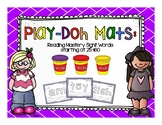 Reading Mastery: Sight Words Play-Doh Mats (Lesson 25-160)