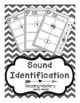 Reading mastery worksheets teaching resources teachers pay teachers reading mastery sound identification reading mastery sound identification fandeluxe Images