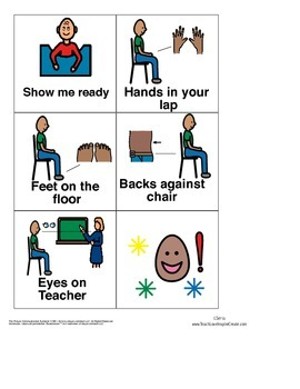 Reading Mastery visual rules