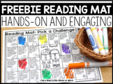 Reading Mat DISTANCE LEARNING    FREEBIE DOWNLOAD  