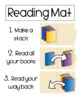 Reading Mat & Goal Sheets!