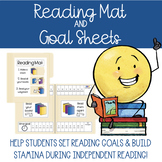 Reading Mat and Goal Sheets