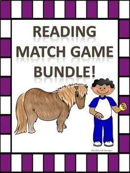 "Reading ""Bundle"" (Matching Cards Games)"