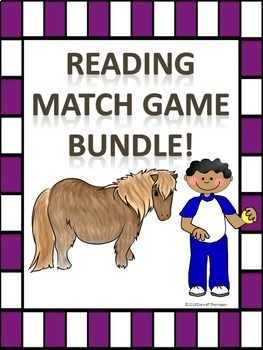 "Reading Bundle ""Matching Cards"" (Games)"