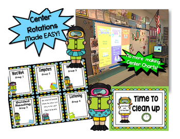 Reading & Math Summer Swim Themed Bundle of Automated PowerPoints for centers