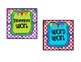 Reading & Math Work Station Procedure Posters and Pocket C