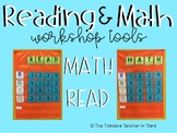 Reading & Math Workshop Rotation Board