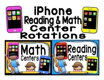 Reading & Math iPhone Bundle - Automated PowerPoints for centers