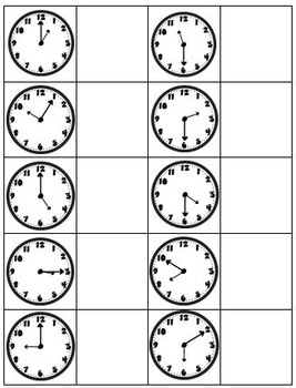 TASK CARDS-MATH Reading Measurements and Time