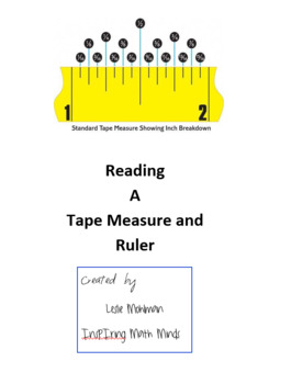 Reading (Measuring) a Tape Measure and Ruler