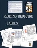 Medicine Safety- Reading Labels (Drug Facts)
