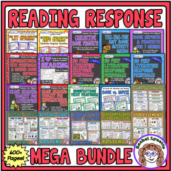 Reading Mega Bundle - 600+ Pages for Comprehension, Guided & Independent Reading