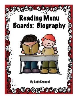 Reading Menu Boards: Biography