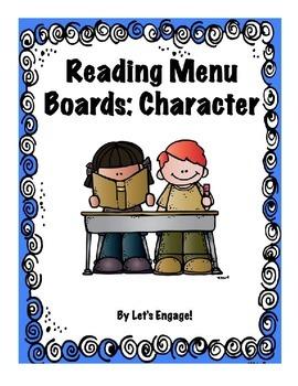 Reading Menu Boards: Character