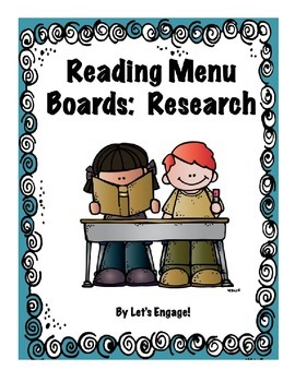 Reading Menu Boards: Research