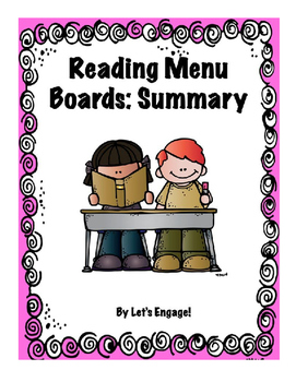 Reading Menu Boards: Summary