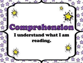 Reading: Menu Headings for Reading Strategies or Skills - Superstars Theme