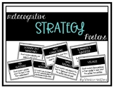 Reading Metacognitive Posters - Simple Black and White