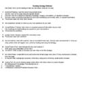 Reading Method List