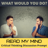 Reading Minds Critical Thinking Hypothetical Situation Activity