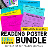 Reading - Mini Anchor Charts Bundle