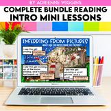 Reading Mini Lessons COMPLETE BUNDLE  (Google Classroom &