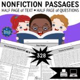 Short Reading Passages Bundle