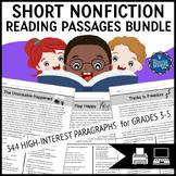 Short Reading Passages Bundle