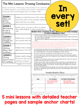 Reading Mini Units for Mastery and Centers for the ENTIRE YEAR