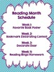 Reading Month-- Activities for the WHOLE school!