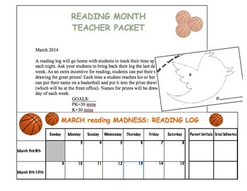 Reading Month Booklet: MARCH reading MADNESS