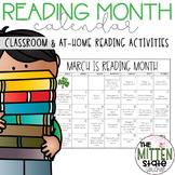 Reading Month Calendar & Reading Logs