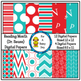 Reading Month (Dr. Seuss) Digital Paper