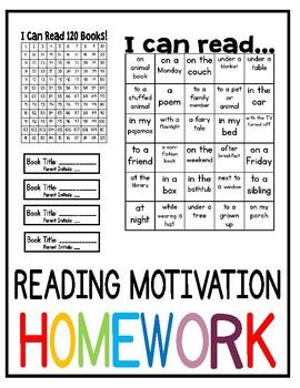 Reading Motivation Homework