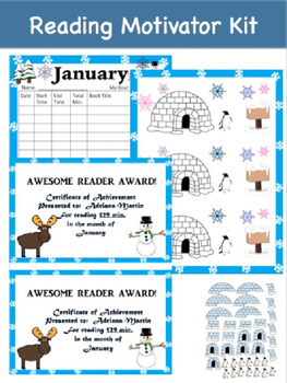 Reading Motivator Kit (January)
