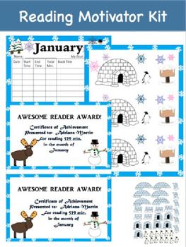 Reading Motivator Kit (January)