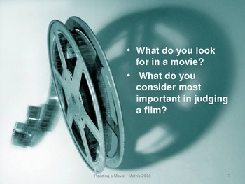 Reading Movies: To Kill a Mockingbird