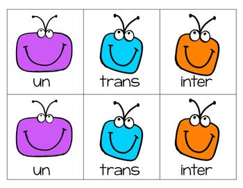 Reading Multisyllabic Words (Build a Bug)