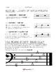 Reading Music - Treble & Bass Clef Worksheet Bundle