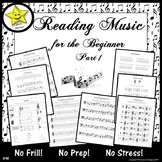 Reading Music for the Beginner, Part 1  Distance Learning