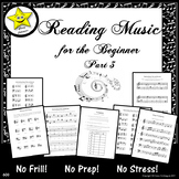 Reading Music for the Beginner, Part 3  Distance Learning