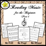 Reading Music for the Beginner, Part 4 Distance Learning