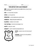 Reading Mysteries - A Detective Packet