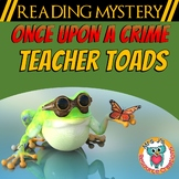 Back to School Reading Activity, Comprehension, Text Evidence+ - READING MYSTERY