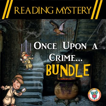 Reading Mystery Growing Bundle - Once Upon a Crime Series