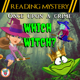 Reading Mystery - Which Witch? - Homophones, Comprehension & Spelling