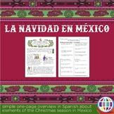 Navidad en México - Christmas traditions in Spanish
