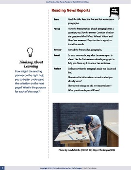 Reading News Reports — OSSLT Prep — interactive
