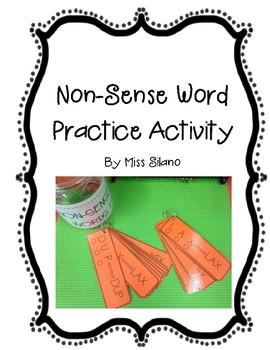 Reading Non-Sense Words (Literacy Center)